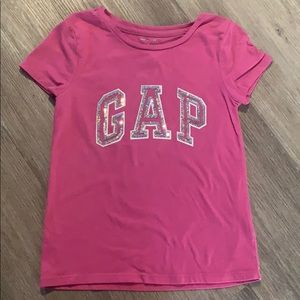 •Gap Factory Girls' Kids Glitter Gap Logo Regular•
